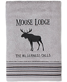 Saturday Knight Wilderness Calling Cotton Embroidered Bath Towel