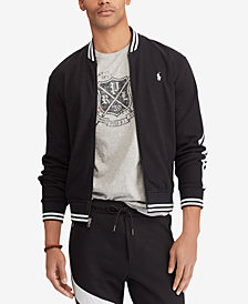Polo Ralph Lauren Men's Big & Tall Knit Cotton Baseball Jacket