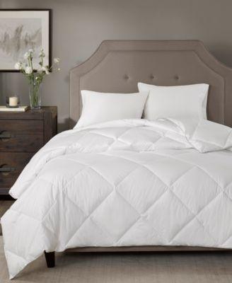 1000-Thread Count Diamond Quilted Full/Queen Down-Alternative Comforter