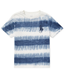 Polo Ralph Lauren Tie-Dye Cotton Jersey T-Shirt, Toddler Boys