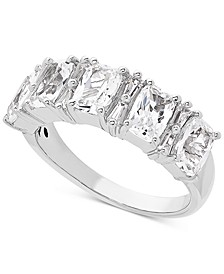 Cubic Zirconia Ring in Sterling Silver
