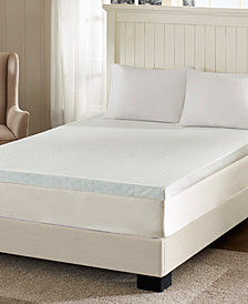 "Flexapedic by Sleep Philosophy 3"" Memory Foam Mattress Toppers with 3M Scotchgard™ Moisture Management Covers"