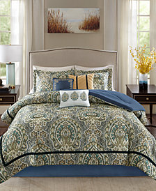 Madison Park Cameron 7-Pc. Queen Comforter Set