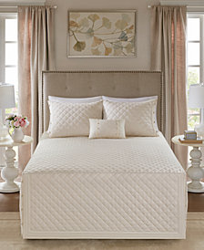 Madison Park Breanna 4-Pc. Full/Queen Quilted Bedspread Set