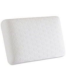 "Sleep Philosophy Flexapedic Classic Gel Memory Foam 16"" x 24"" Standard Pillow"