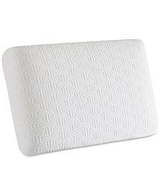 "Sleep Philosophy Flexapedic Classic Gel Memory Foam 16"" x 24"" Standard Pillow"