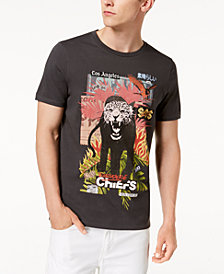 GUESS Men's Tiger Graphic T-Shirt