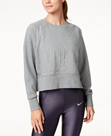 Nike Dri-FIT French Terry Cropped Training Top