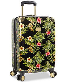 "Tommy Bahama Phuket Floral Printed 20"" Carry-On Expandable Hardside Spinner Suitcase"