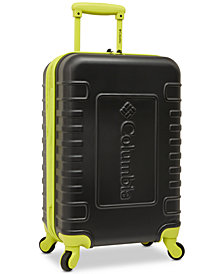 "Columbia Crater Peak 21"" Carry-On Expandable Hardside Spinner Suitcase"