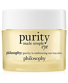 Purity Made Simple Hydra-Bounce Eye Gel, 0.5-oz.