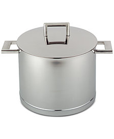 Demeyere John Pawson 8.5-Qt. Stainless Steel Stockpot & Lid