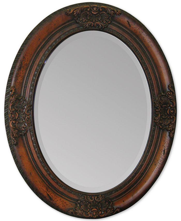 Furniture - Cherry Chelsea Mirror, Quick Ship