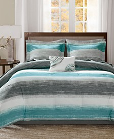 Madison Park Essentials Saben 7-Pc. Twin Comforter Set
