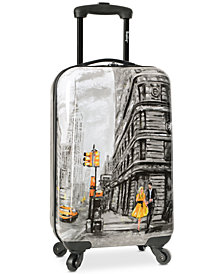 "Wembley Live It Up NYC 20"" Carry-On Spinner Suitcase"