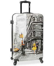 "Wembley Live It Up NYC 28"" Hardside Spinner Suitcase"