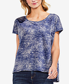 Vince Camuto High-Low Tie-Dye T-Shirt
