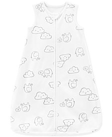 Carter's Baby Boys or Baby Girls Cloud-Print Cotton Sleep Bag