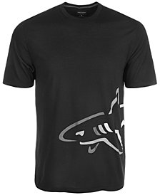 Greg Norman for Tasso Elba Side Shark Logo T-Shirt, Created for Macy's