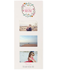 Cathy's Concepts White Mom Multi-Photo Frame