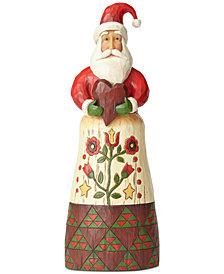 Jim Shore Folklore Santa with Heart