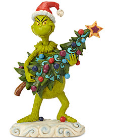 jim shore grinch stealing tree figurine