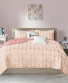 Raina Reversible Coverlet Sets