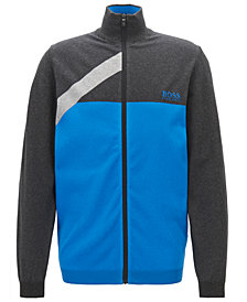 BOSS Men's Water-Repellent Colorblocked Sweater