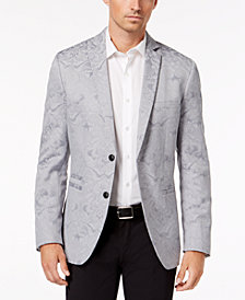 I.N.C. Men's Slim-Fit Metallic Jacquard Blazer, Created for Macy's