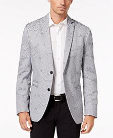 I.N.C. Men's Slim-Fit Metallic Jacquard Blazer, Created for Macy's
