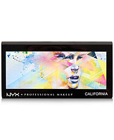 NYX Professional Makeup California Palette