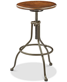 Austan 16.25'' Swivel Stool, Quick Ship