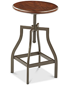 Austan 13.75'' Swivel Stool, Quick Ship