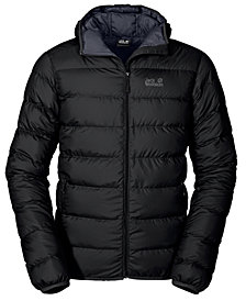 Jack Wolfskin Men's Helium Packable Hooded Full-Zip Jacket