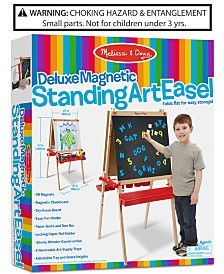 Melissa and Doug Kids Deluxe Magnetic Standing Art Easel