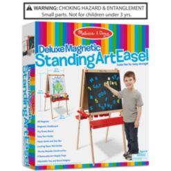 Melissa and Doug Kids Deluxe Magnetic Standing Art Easel