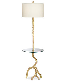 CLOSEOUT! Pacific Coast Beachwood Light Floor Lamp
