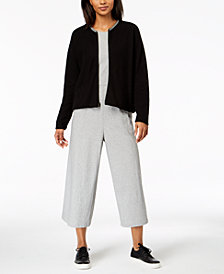 Eileen Fisher Cardigan & Cropped Jumpsuit