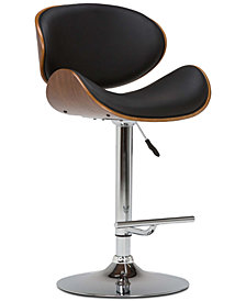 Delsia Swivel Bar Stool, Quick Ship