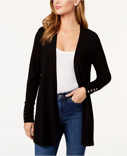 Charter Club Open-Front Cardigan, In Regular and Petite, Created for Macy's