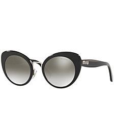 Miu Miu Sunglasses, MU 06TS 53
