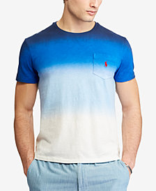 Polo Ralph Lauren Men's Big & Tall Classic Fit Ombré Cotton T-Shirt