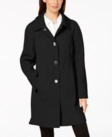 c62db6267b2 London Fog Petite Hooded Raincoat