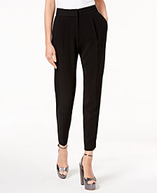 Rachel Zoe Belyn Stitched-Waist Tapered-Leg Pants