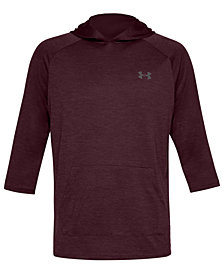 Under Armour Men's UA Tech PowerSleeve Hooded Training T-Shirt