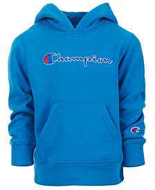 Champion Little Boys Heritage Logo Hoodie