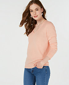 Charter Club Pure Cashmere V-neck Sweater, in Regular & Petite Sizes, Created for Macy's