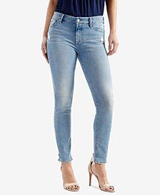 Lucky Brand Ava Frayed-Hem Skinny Jeans