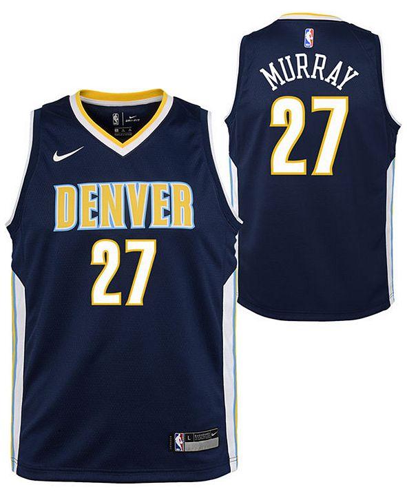 Nike Jamal Murray Denver Nuggets Icon Swingman Jersey, Big Boys (8-20)