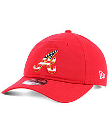 New Era Atlanta Braves Stars and Stripes 9TWENTY Strapback Cap